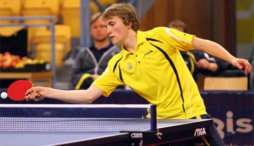 Andersson leads success for hosts on busy day of qualifying at ITTF Swedish Open