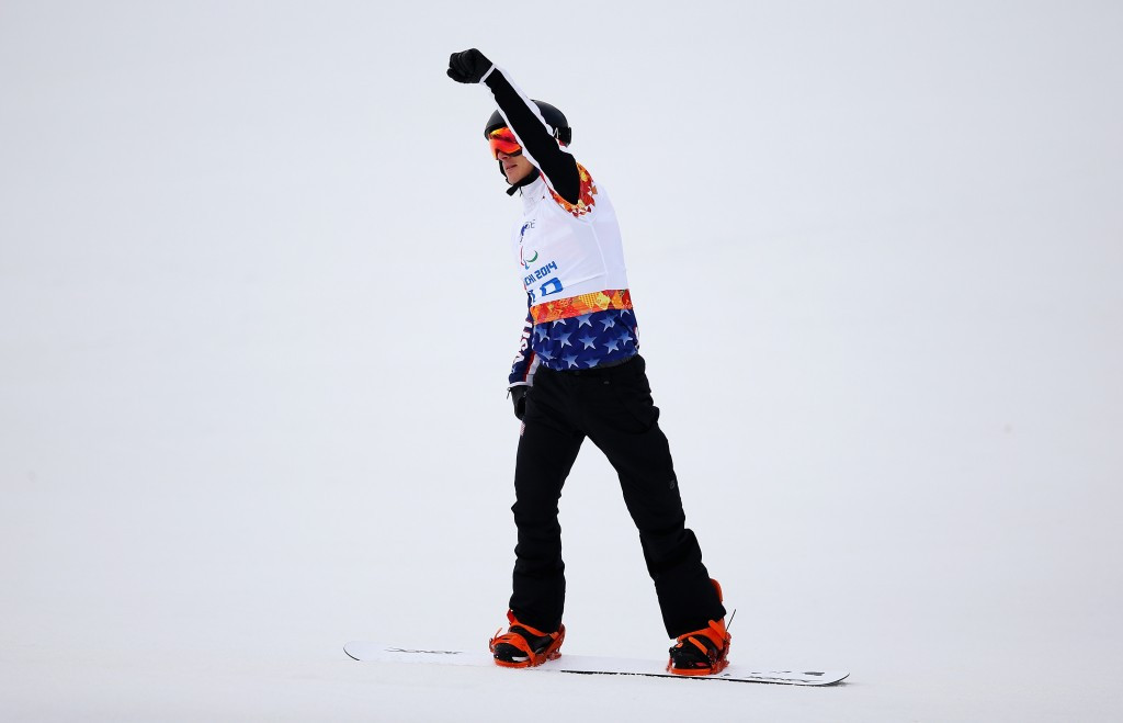 Paralympic champion Strong makes perfect start to season with victory in IPC Snowboard World Cup opener