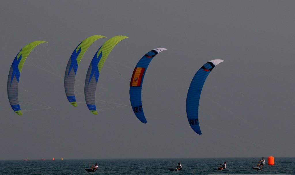 Vodisek impresses but Bridge leads after second day of IKA KiteFoil GoldCup