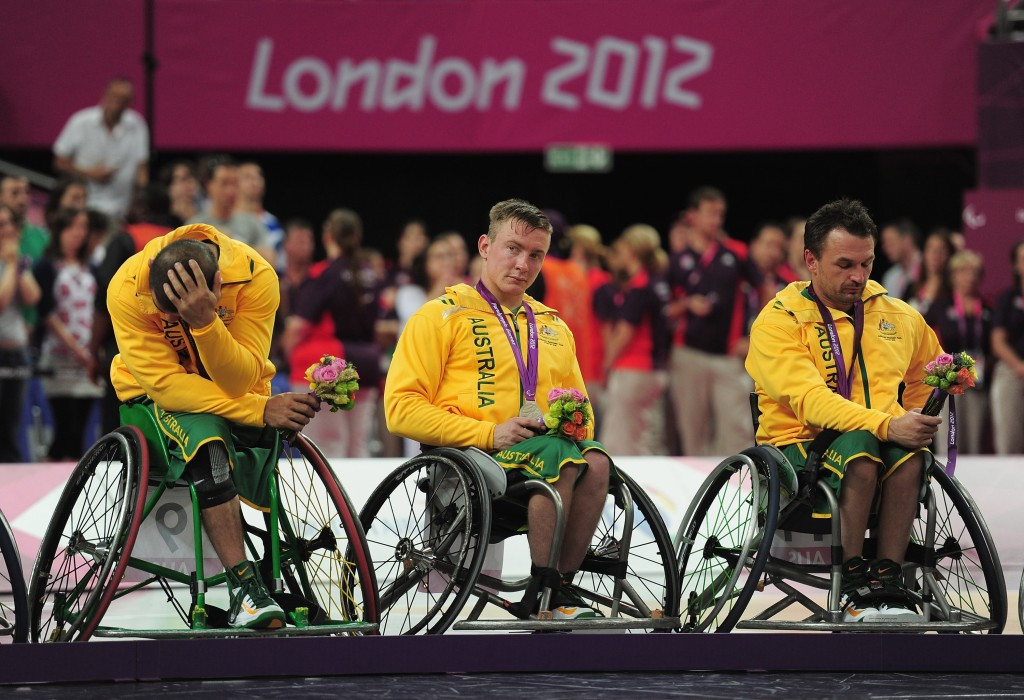 Despite having won the last two world titles Australia were beaten by Canada in the London 2012 Paralympic final