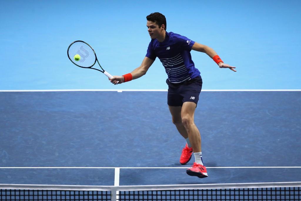 Raonic beats Thiem to secure last four spot at ATP World Tour Finals