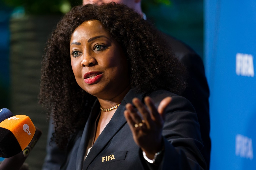 FIFA secretary general Fatma Samoura has sent a letter to the body claiming to be the Kuwait Football Association ©Getty Images