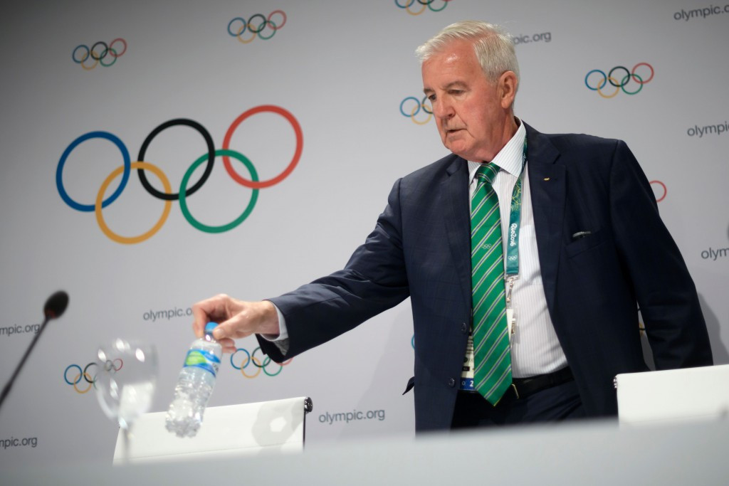 WADA President Sir Craig Reedie came under attack during the ANOC General Assembly in Doha ©Getty Images