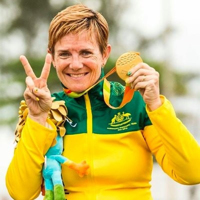 Carol Cooke's Rio 2016 Paralympic gold medals have been returned to her after they were stolen almost a month ago ©Twitter