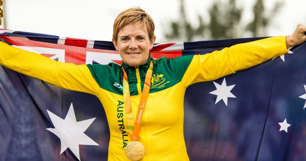 Carol Cooke's medals were stolen during a training session at the Victorian Institute of Sport ©Twitter