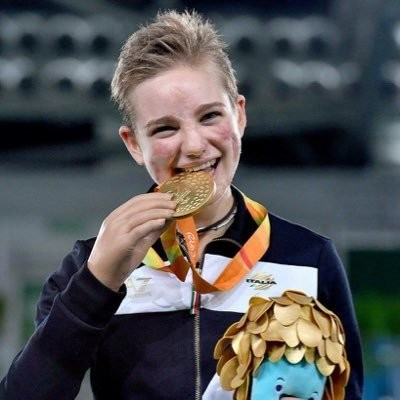 Beatrice Vio overcame Irina Mishurova of Russia in the final ©Twitter