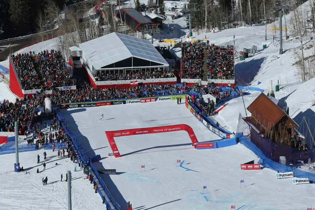 A negative snow control has forced the cancellation of next month's FIS Alpine Skiing World Cup at Beaver Creek ©Getty Images