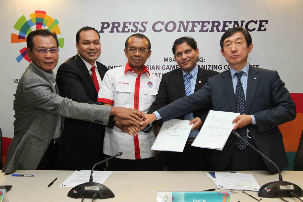 Ssangyong will build the Asian Games Information System which is the home of vital information for the event ©OCA