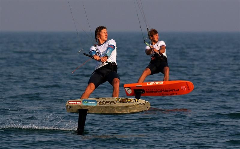 Bridge maintains lead before final day of IKA KiteFoil GoldCup