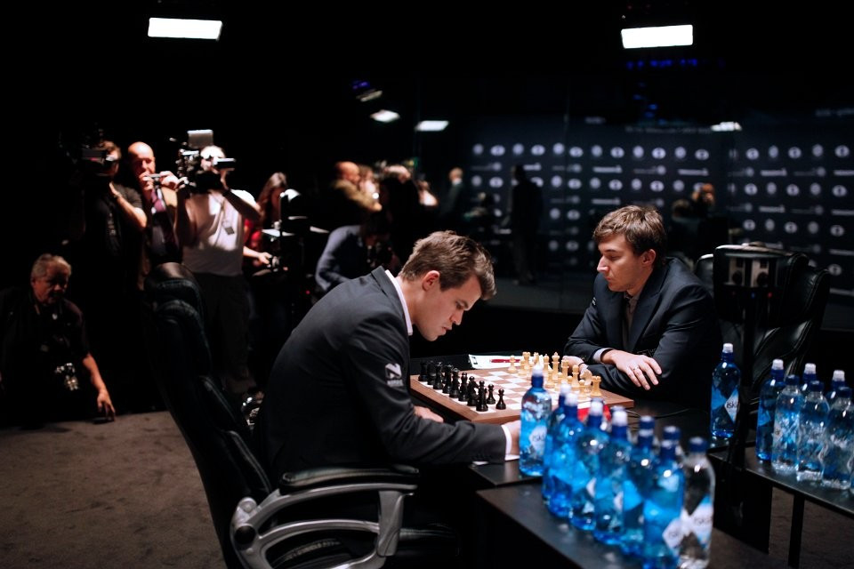 The Championship in New York City remains delicately poised ©FIDE
