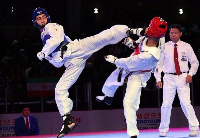 Four countries strike gold on day three of World Taekwondo Junior Championships
