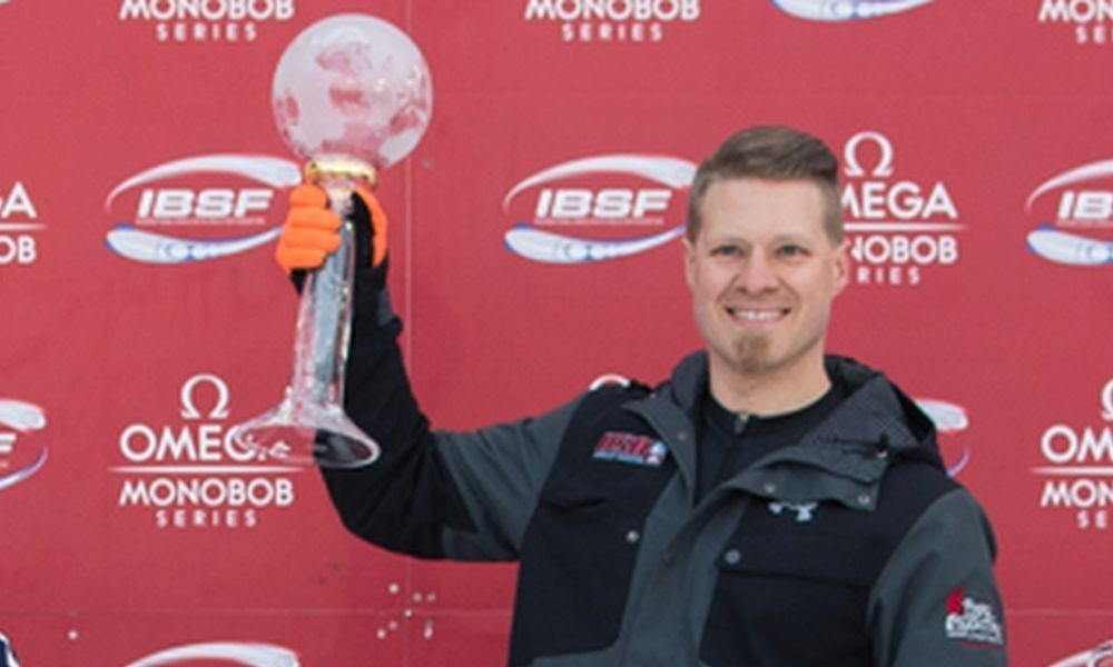 Eric Eierdam will be looking to defend his skeleton World Cup title ©IBSF