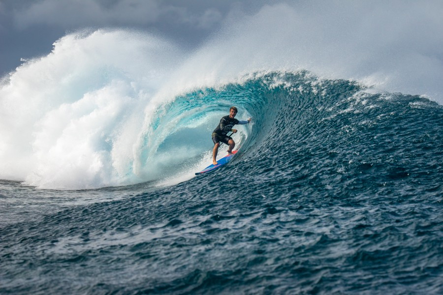 Hawaii's Zane Schweitzer won the men's final with a score of 15.70 points ©ISA