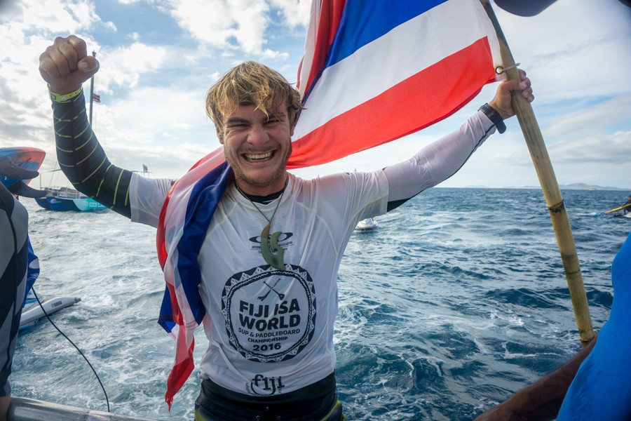 Schweitzer and Westdorp claim gold medals at 2016 ISA World SUP and Paddleboard Championship