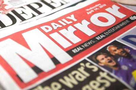 Former BOA chief executive Simon Clegg has reached an undisclosed financial settlement with Mirror Group Newspapers ©Mirror Group