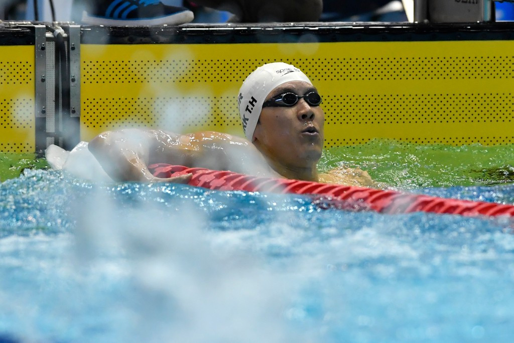 Park secures two gold medals to extend overall tally to four at Asian Swimming Championships