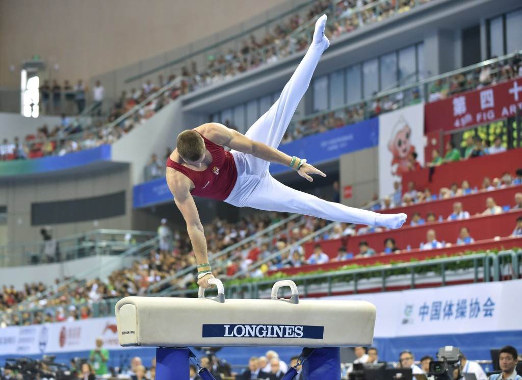Berki returns to past glory with dominant pommel horse victory at FIG Individual Apparatus World Cup