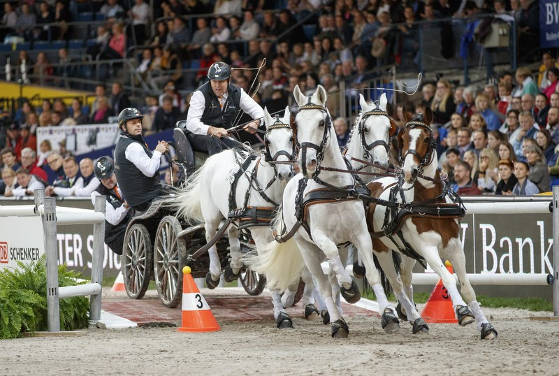 Reigning champion Chardon begins FEI Driving World Cup season with victory