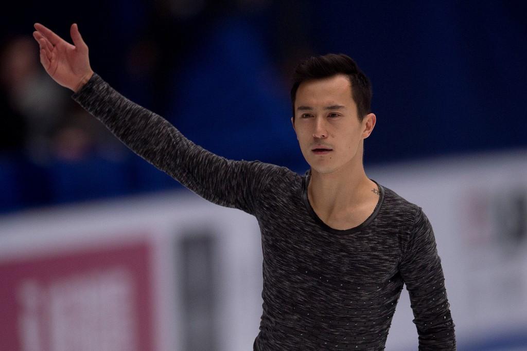 Chan wins men's title at ISU Grand Prix of Figure Skating leg in Beijing