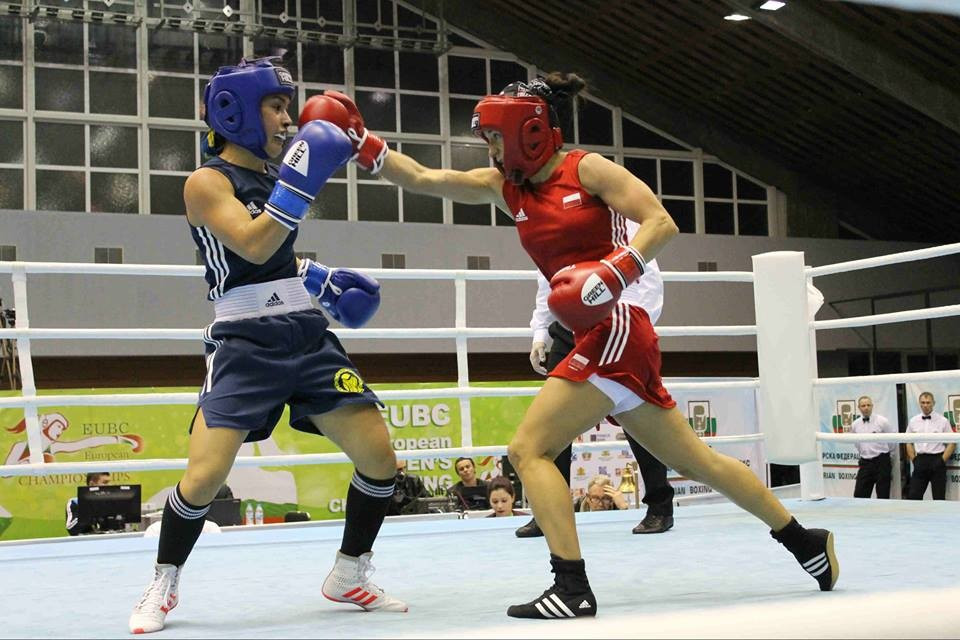 The EUBC European Women's Boxing Championships continued in Sofia today ©EUBC