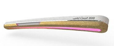 The design for the Gold Coast 2018 Commonwealth Games baton has been revealed ©CGF