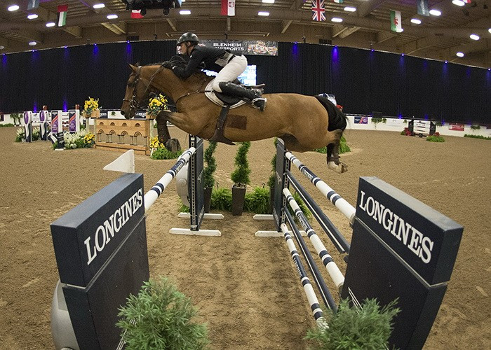 Heineking wins by narrow margin at FEI World Cup Jumping leg in Las Vegas