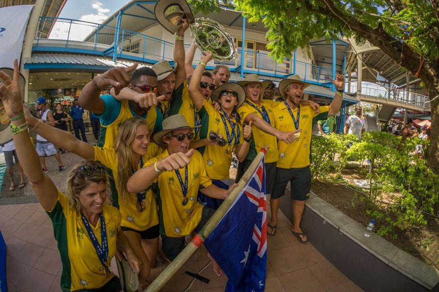 Australia reclaim team gold on final day of 2016 ISA World SUP and Paddleboard Championship