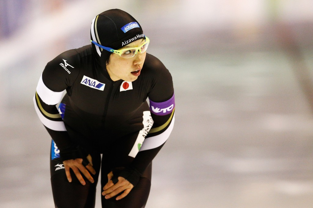 Nao Kodaira has now won all three women's 500m races this season ©Getty Images