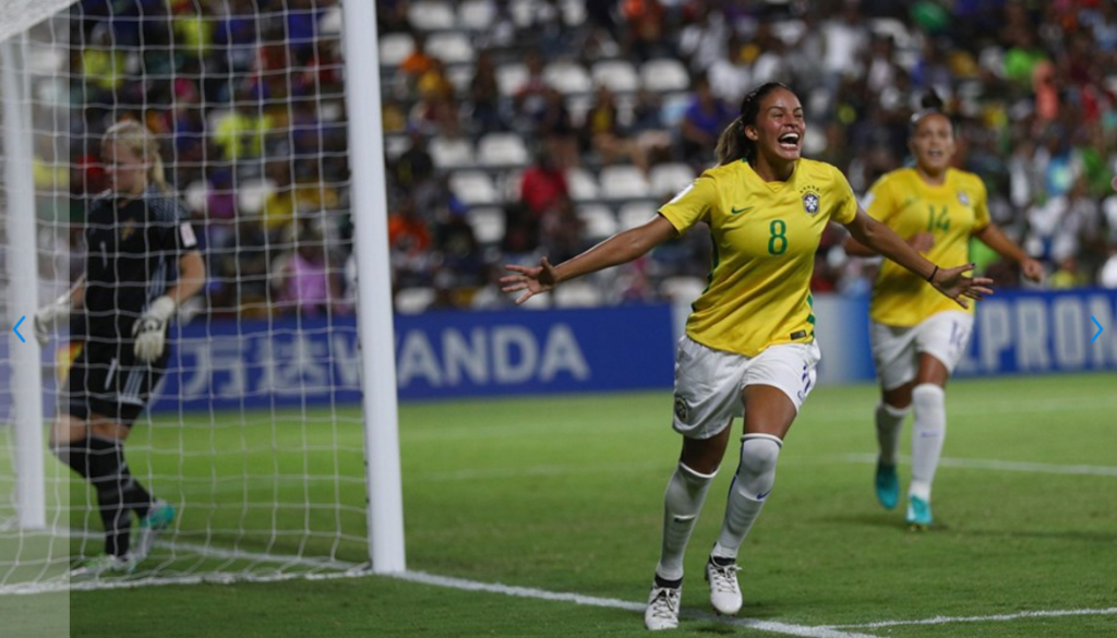 Brazil sneak into FIFA Under-20 Women's World Cup last eight on goal difference