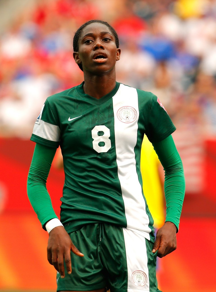 Arsenal striker Oshoala scores four times as holders Nigeria begin Africa Women Cup of Nations defence in style
