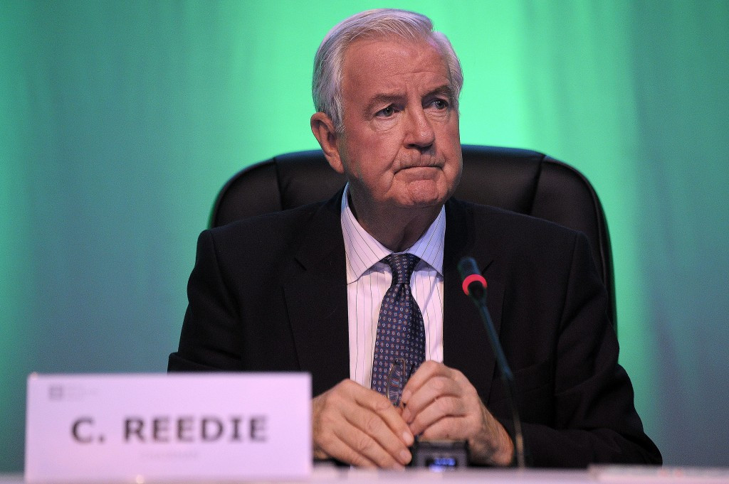 WADA President Sir Craig Reedie again stressed the need for Russia to regain compliance ©Getty Images
