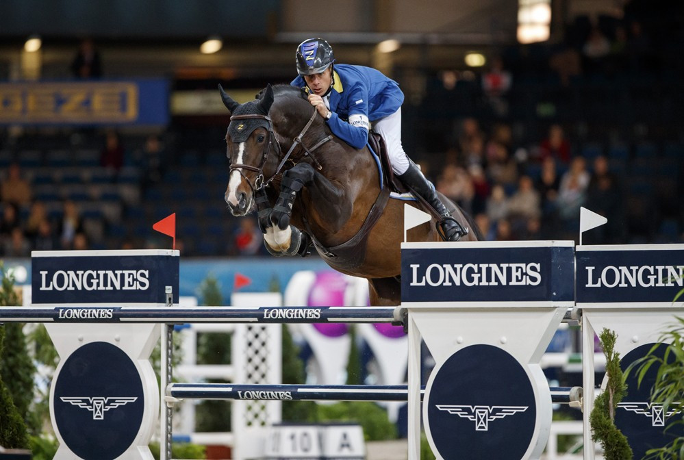 Ahlmann wins FEI World Cup Jumping leg on home turf in Stuttgart