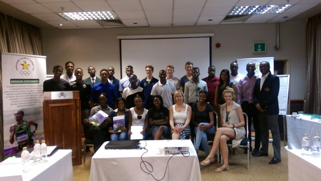 The ZOC held an Athlete Career Programme event ©ZOC