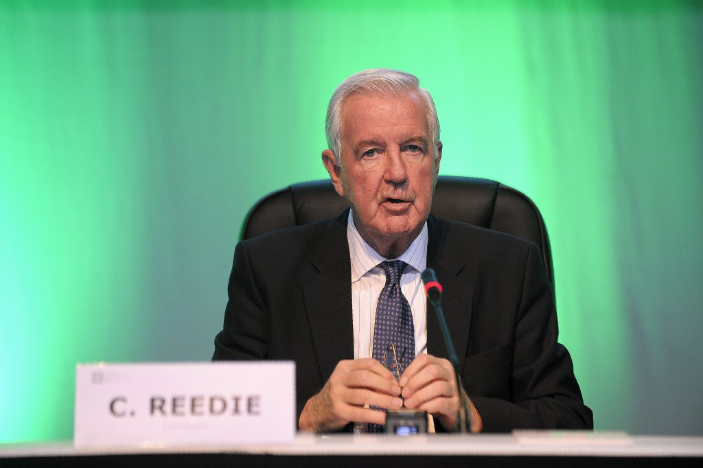 Azerbaijan, Brazil and Indonesia were declared non-compliant at the WADA Foundation Board meeting in Glasgow, where Sir Craig Reedie was re-elected President ©Getty Images
