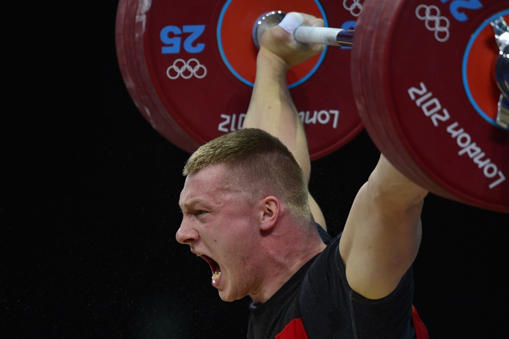 Ninth place finisher Tomasz Zielinski of Poland could win an unlikely bronze medal from London 2012 in the men's 94 kilogram competition after so many of those originally ahead of him failed drugs tests ©Getty Images