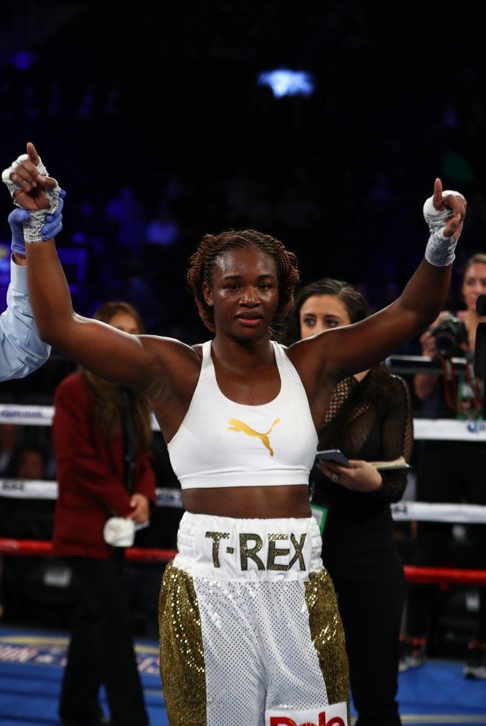 Double Olympic champion Shields dazzles on professional debut against Crews in Las Vegas