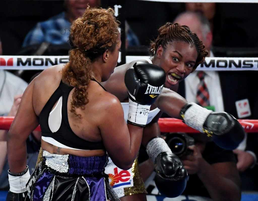 Claressa Shields, the double Olympic champion, secured a unanimous judges' decision win ©Getty Images