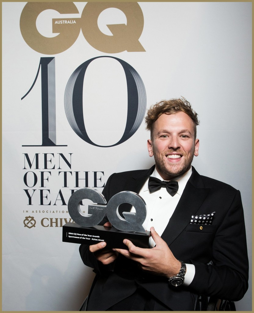 Australian wheelchair tennis star Alcott named GQ Magazine Sportsman of the Year