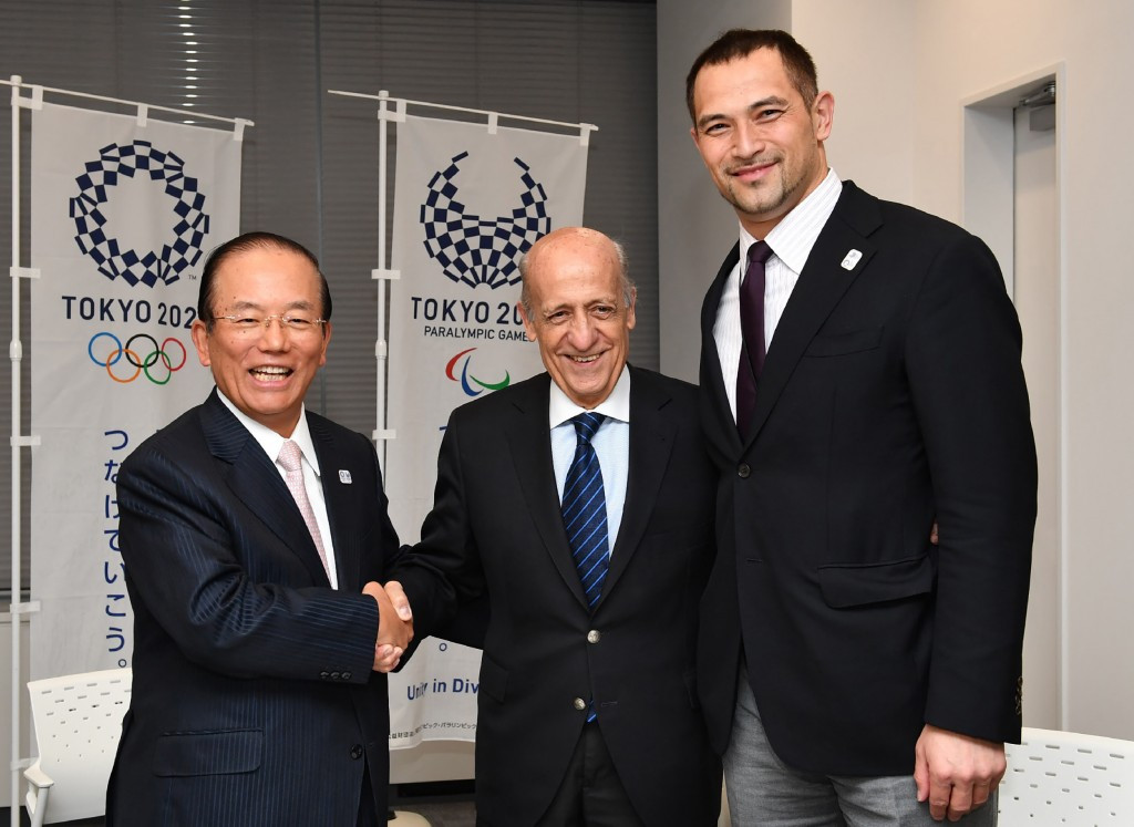 Julio Maglione made the claim after meeting Tokyo 2020 officials ©Getty Images