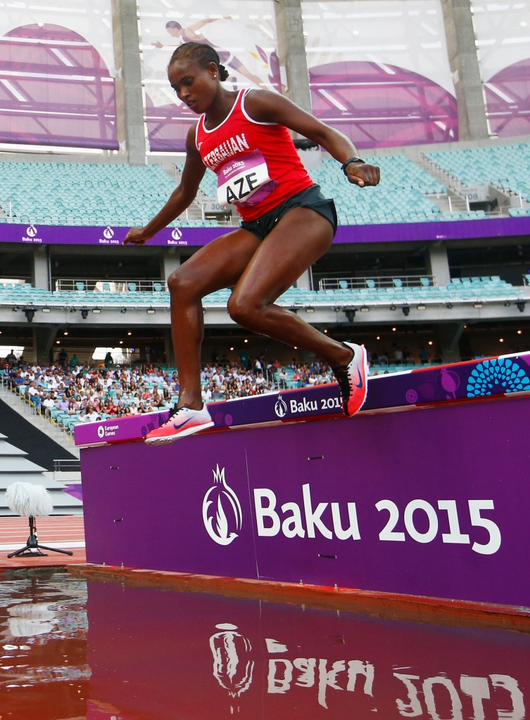 Chaltu Beji was disqualified from the Baku 2015 European Games after failing a drugs test ©Getty Images