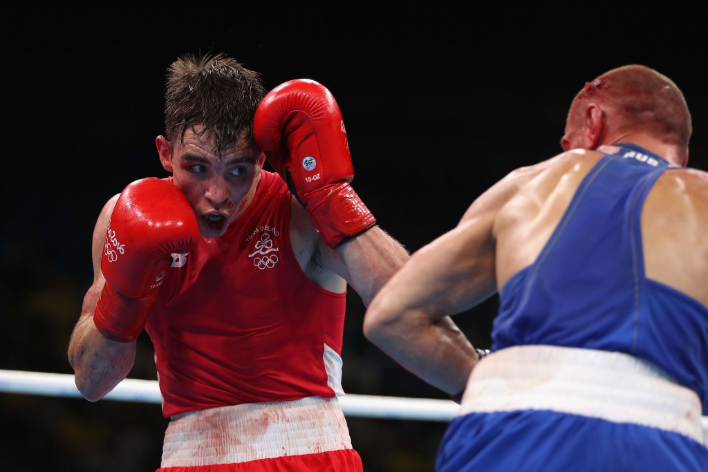 Michael Conlan's post fight conduct is claimed to be the reason for the disciplinary proceedings ©Getty Images