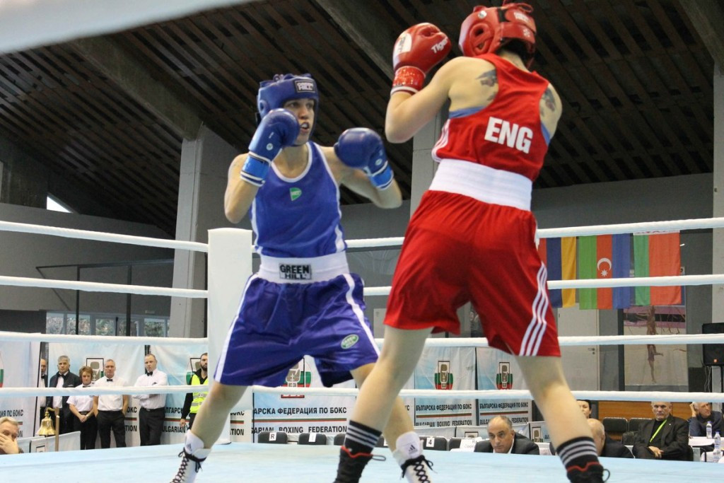 Gale forces way into EUBC European Women's Boxing Championships middleweight final