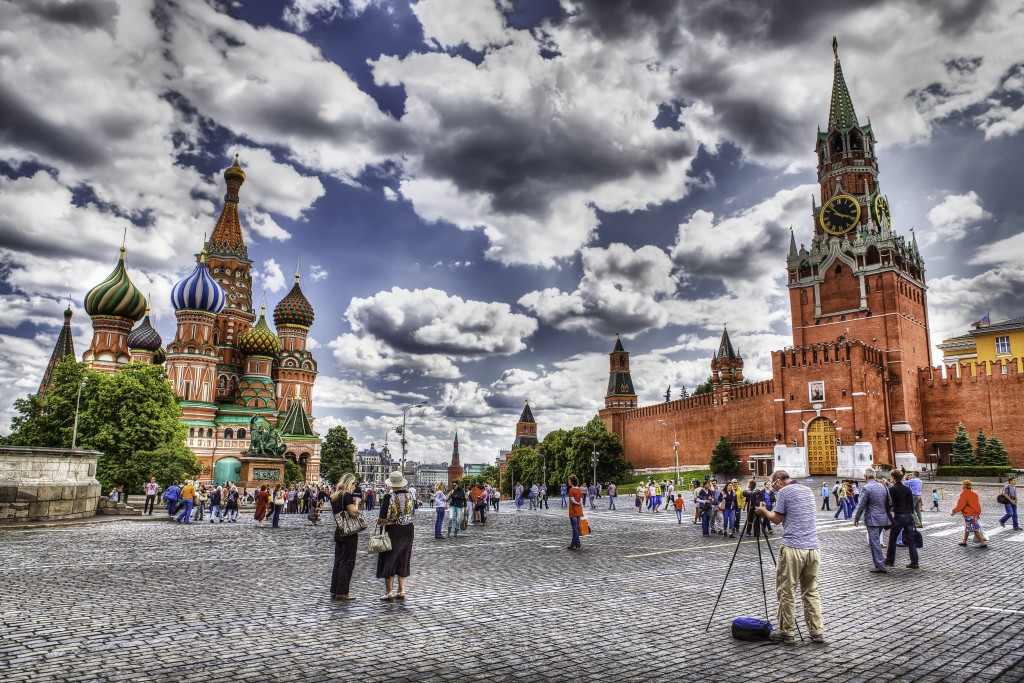 Moscow's iconic Red Square has been touted as a possible location for the 2021 Beach Soccer World Cup ©Wikimedia