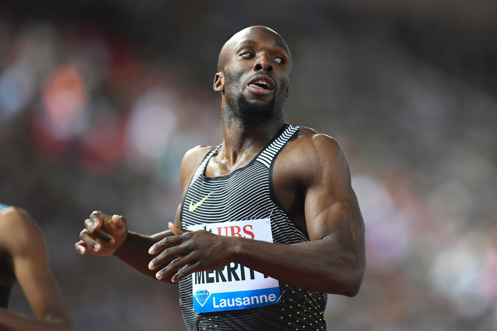 The United States Olympic Committee successfully challenged the Osaka Rule in 2011 on behalf of LaShawn Merritt ©Getty Images
