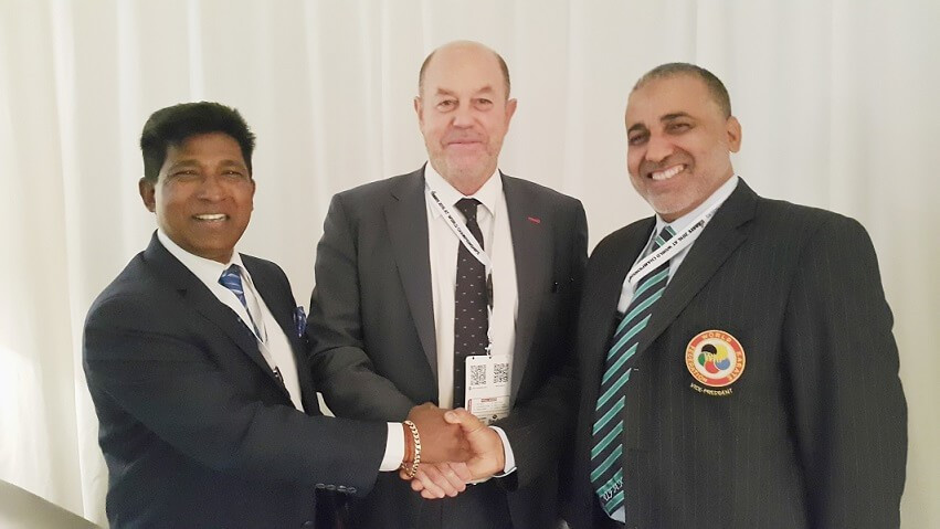 Karate South Africa chief receives backing from WKF President
