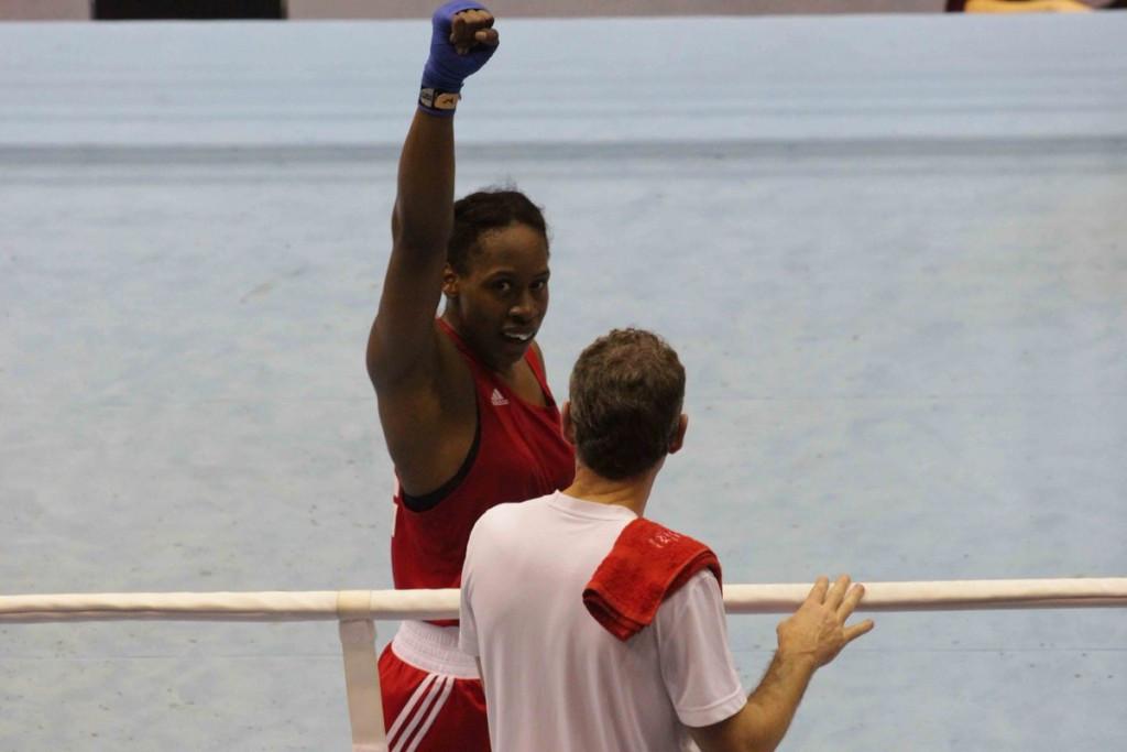Natasha Gale claimed English gold at the European Boxing Championships ©Twitter/GB Boxing