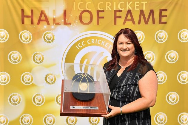 Former Australian captain Karen Rolton has been inducted into the ICC Hall of Fame ©ICC