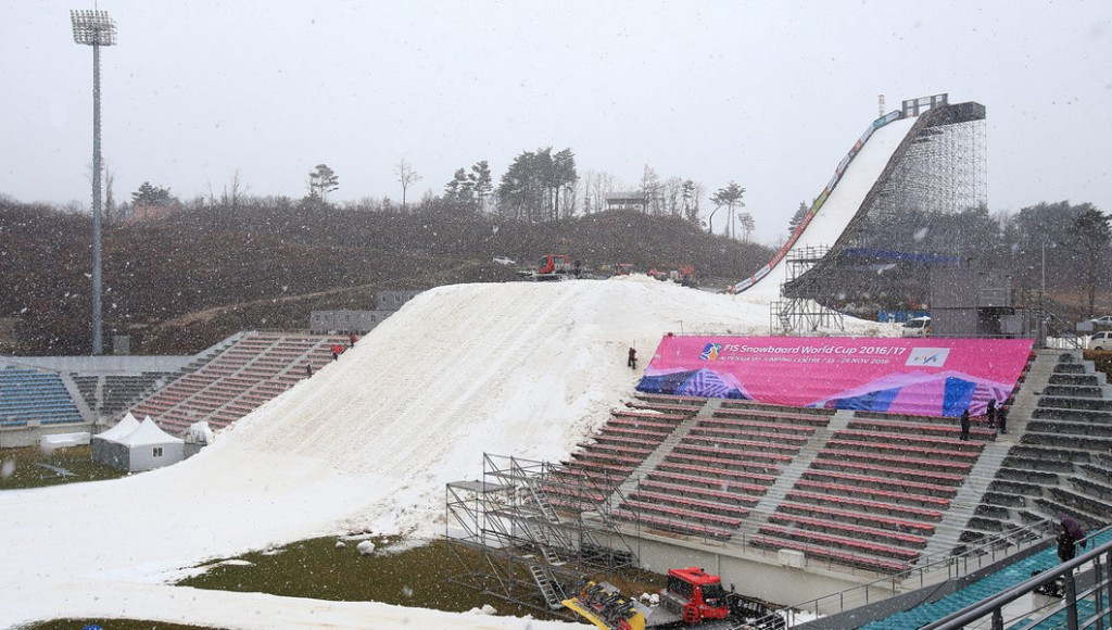 Pyeongchang 2018 set for Olympic test event as FIS Snowboard Big Air World Cup heads to South Korea