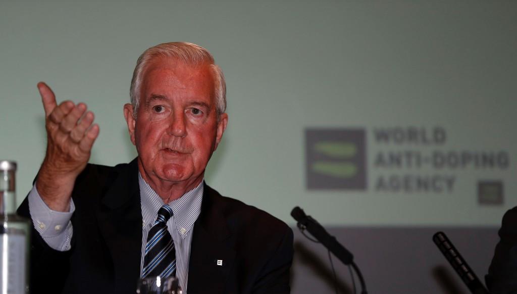Sir Craig Reedie has welcomed the increase in testing figures ©Getty Images