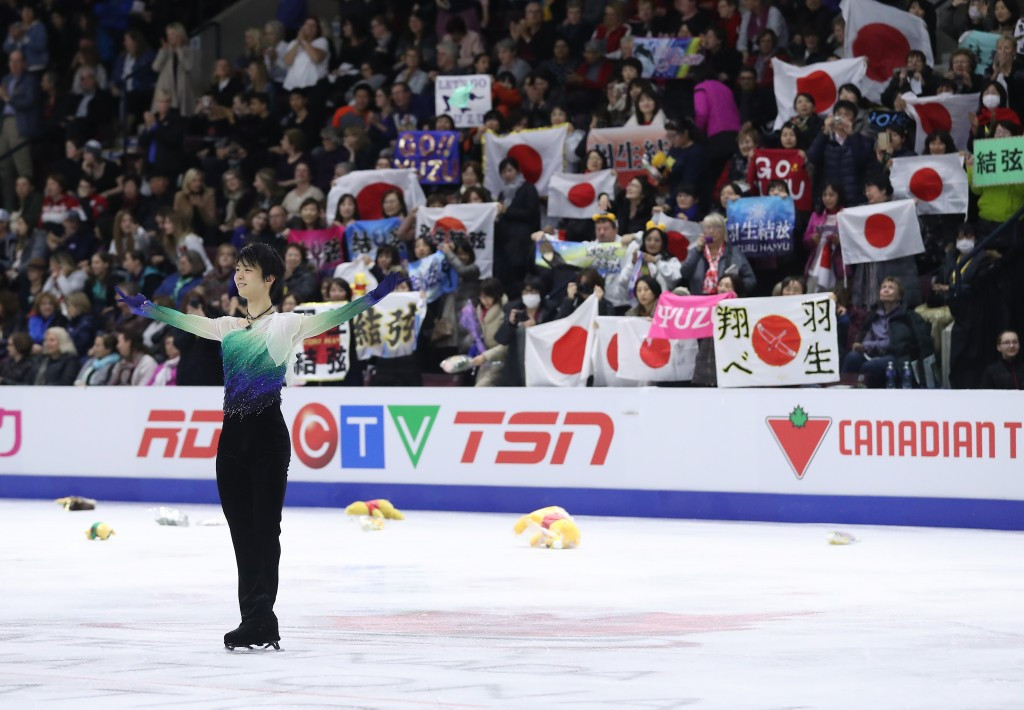 Olympic champion Hanyu to bid for glory on home ice at NHK Trophy